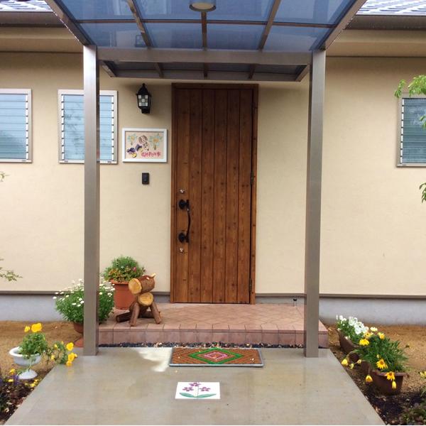 福祉施設渡り廊下