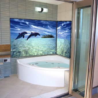 一般家庭バスルーム