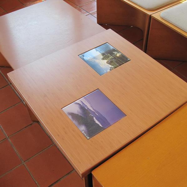 岡山県庁テーブル